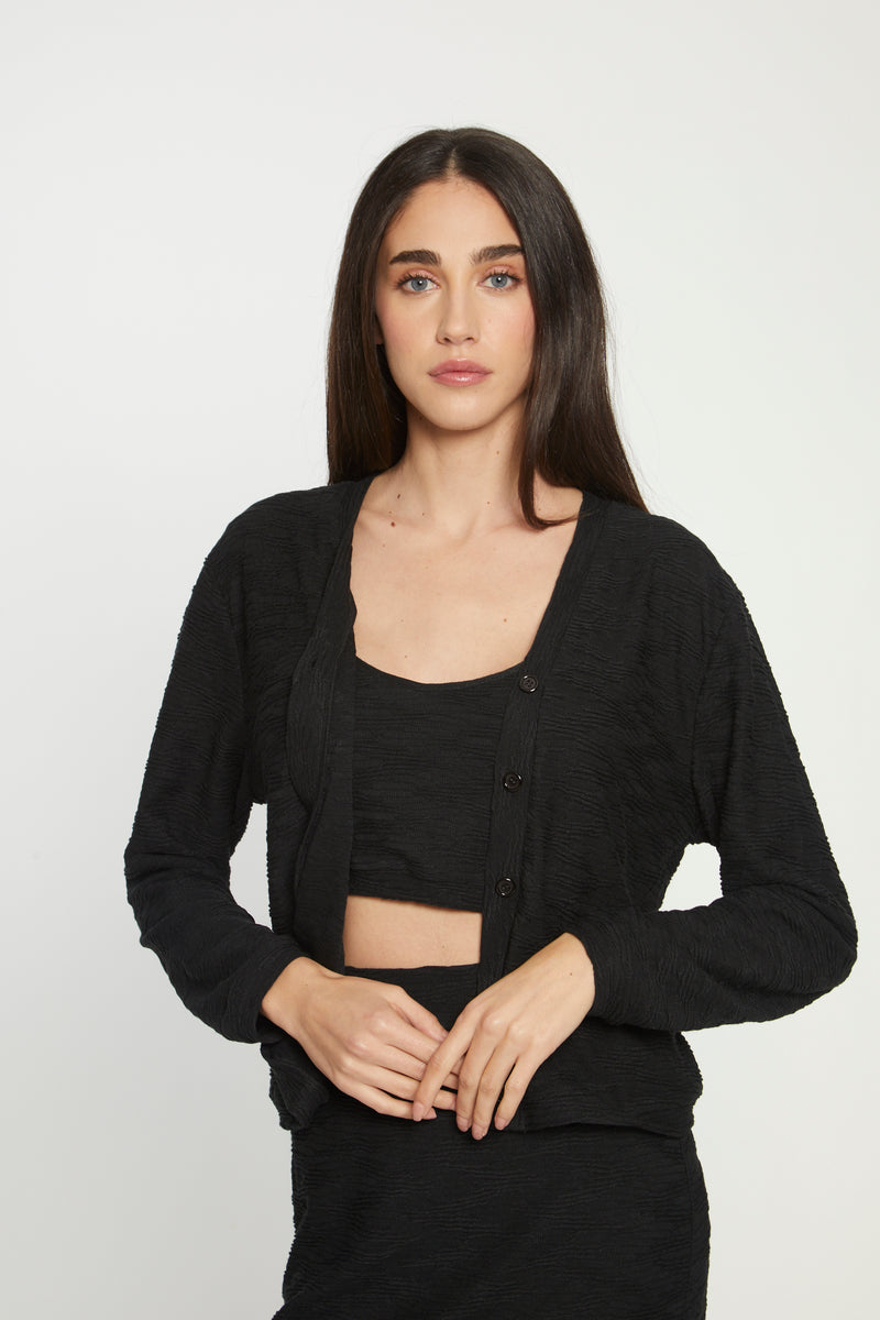 Melinda Top, Black