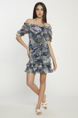 Shay Dress, Tropical Night