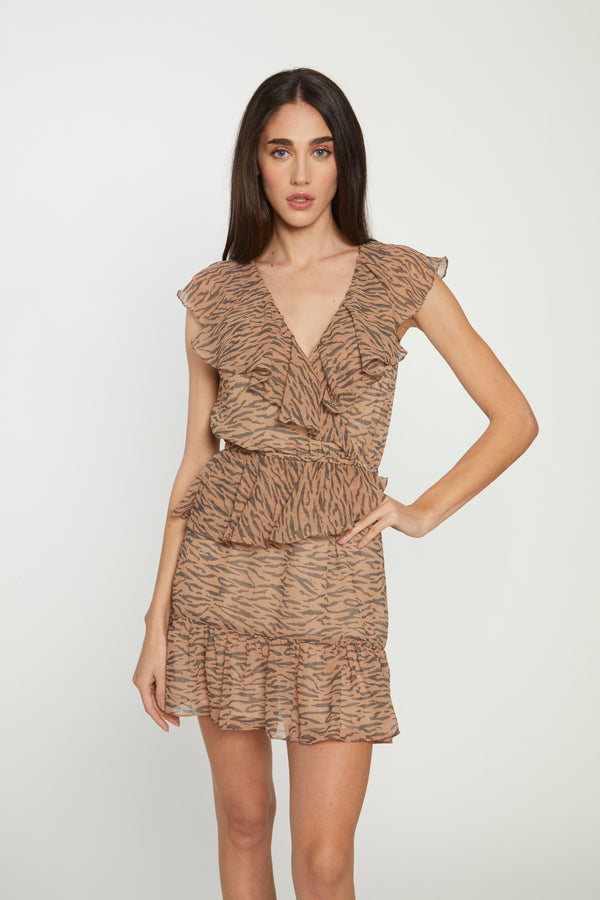 Shelly Dress, Bali Tiger
