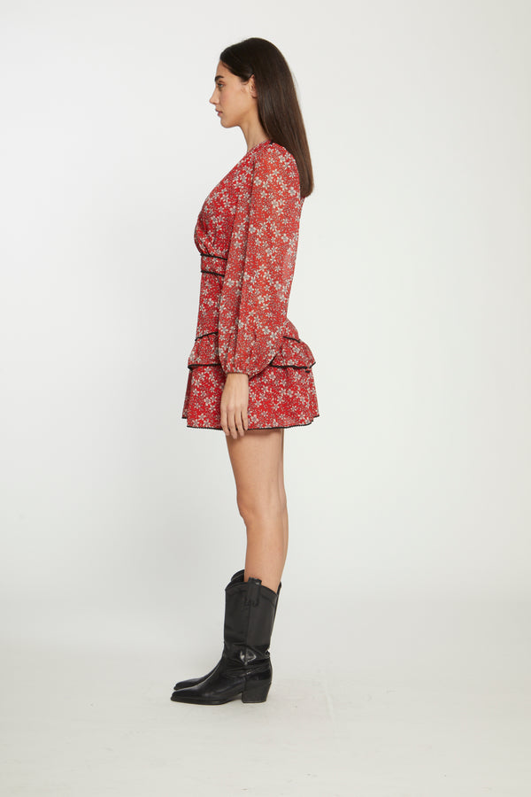 Mishka Dress, Wild Flowers