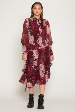 Anita Dress, Wild Orchid