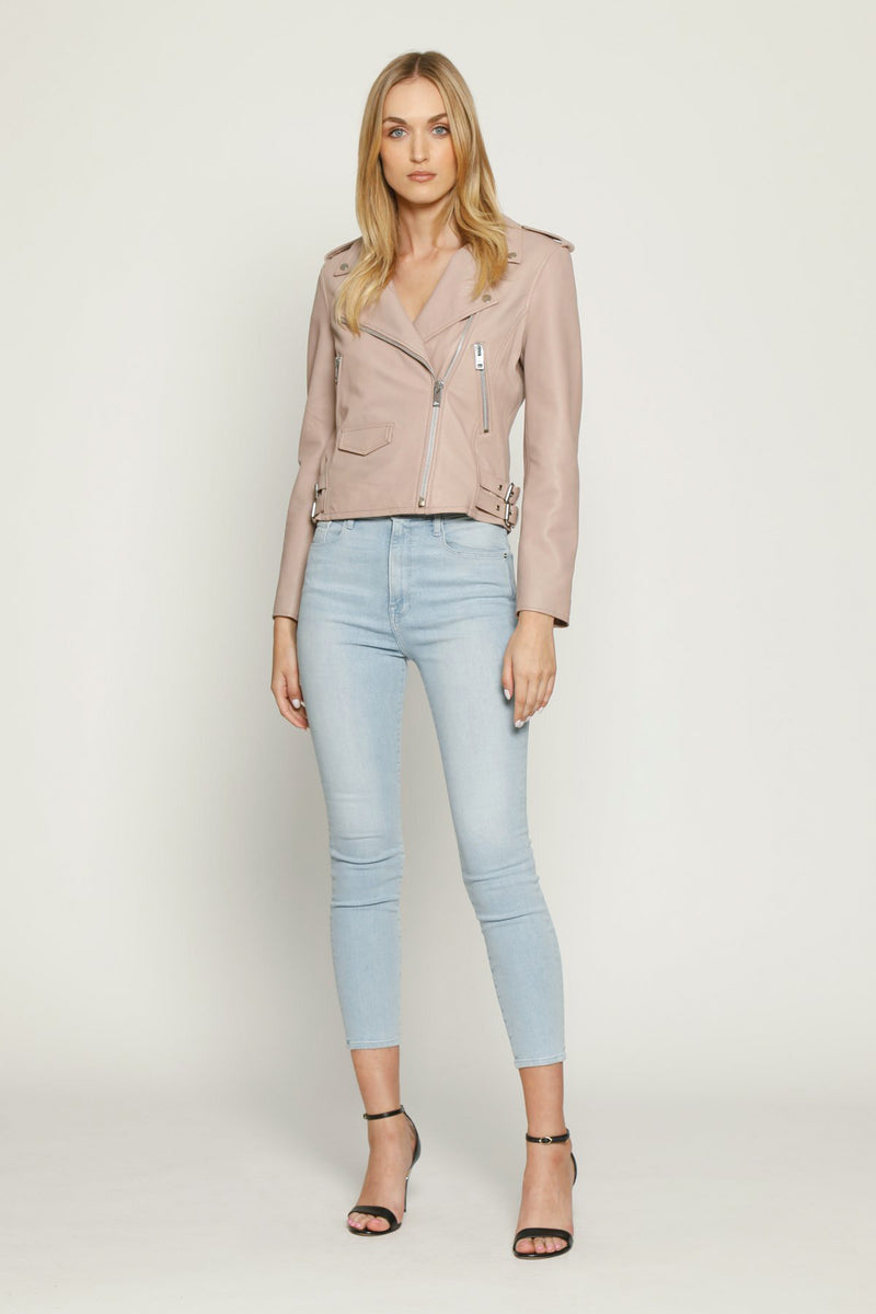 Liz Jacket, Dusty Pink