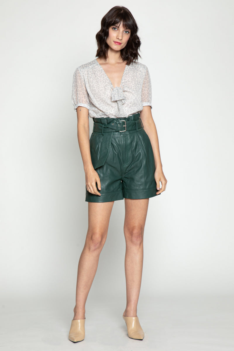 Velda Shorts, Bottle Green
