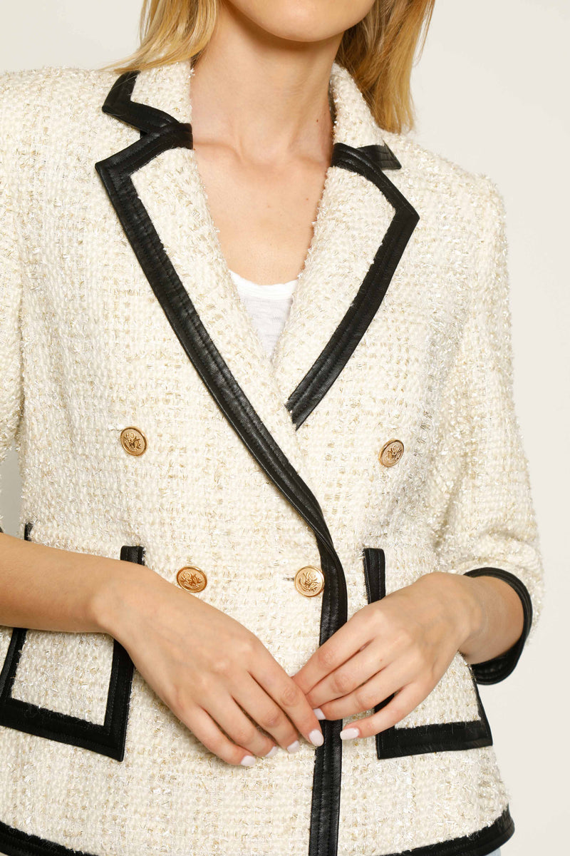 Raquel Jacket, Gold Tweed
