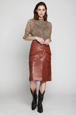 Louise Skirt, Cognac