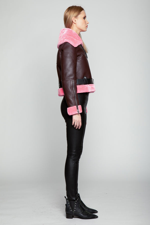 Mandie Jacket, Crushed Violet/Pink