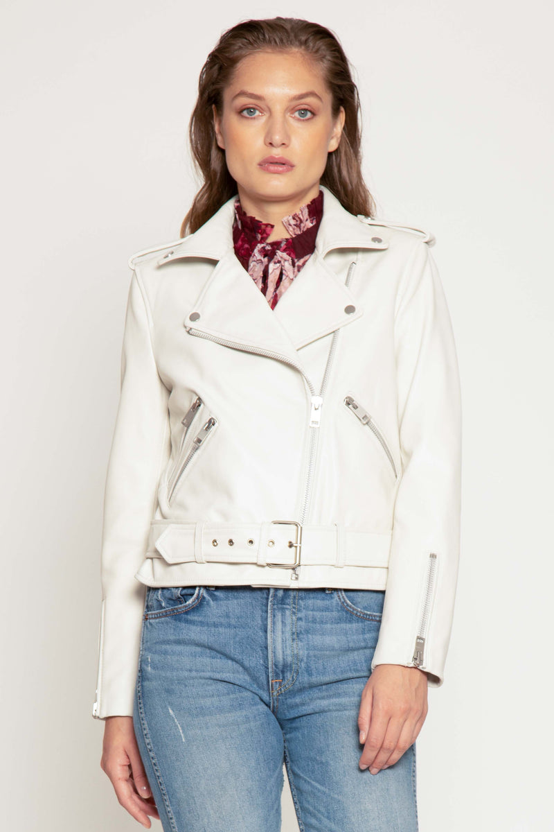 Allison Jacket, Bright White