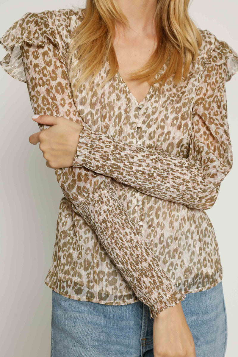 Alisa Top, Emerald Leopard