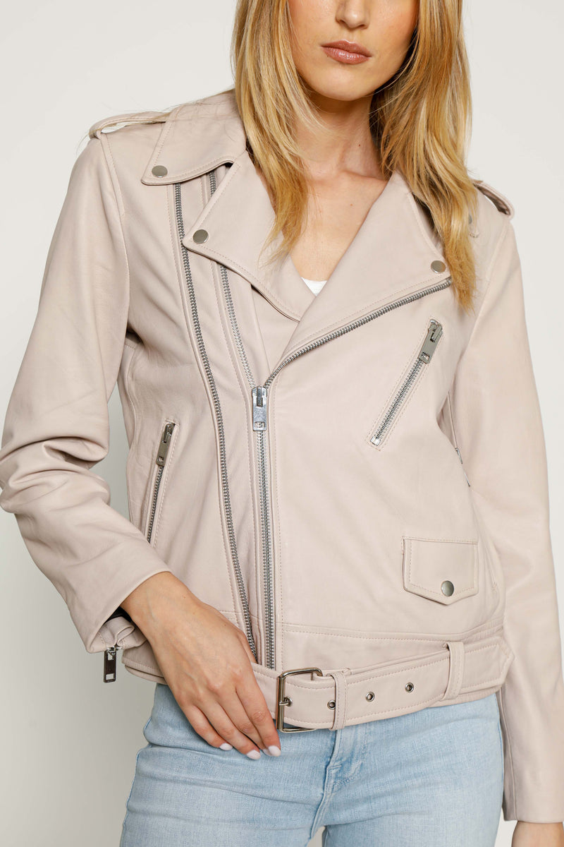 Kingsley Jacket, Light Blush