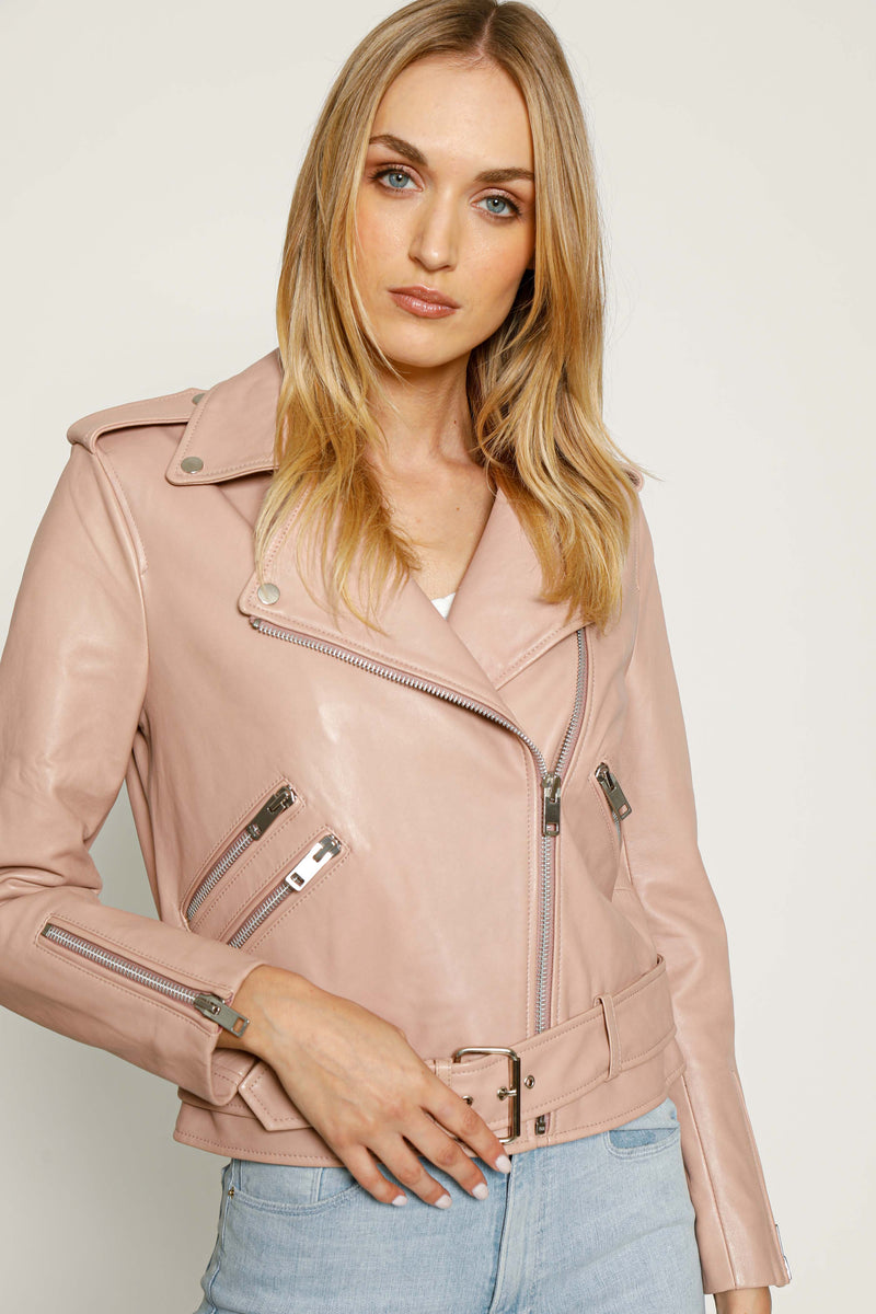 Allison Jacket, Rose Pink