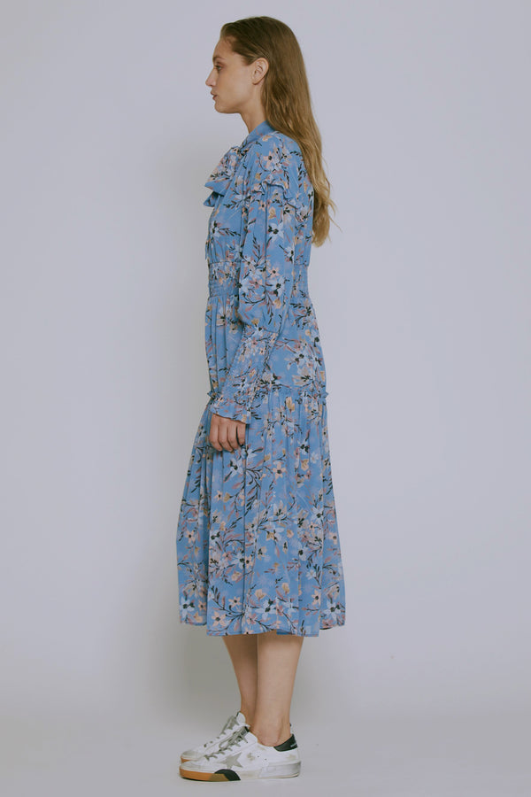 Bella Dress, Laguna Bloom