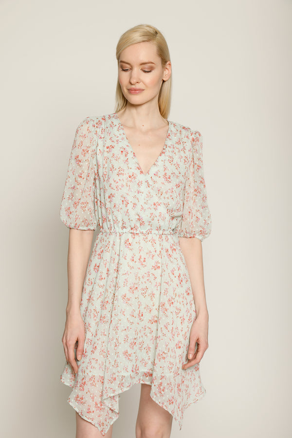 Cyrus Dress, Mint Bloom