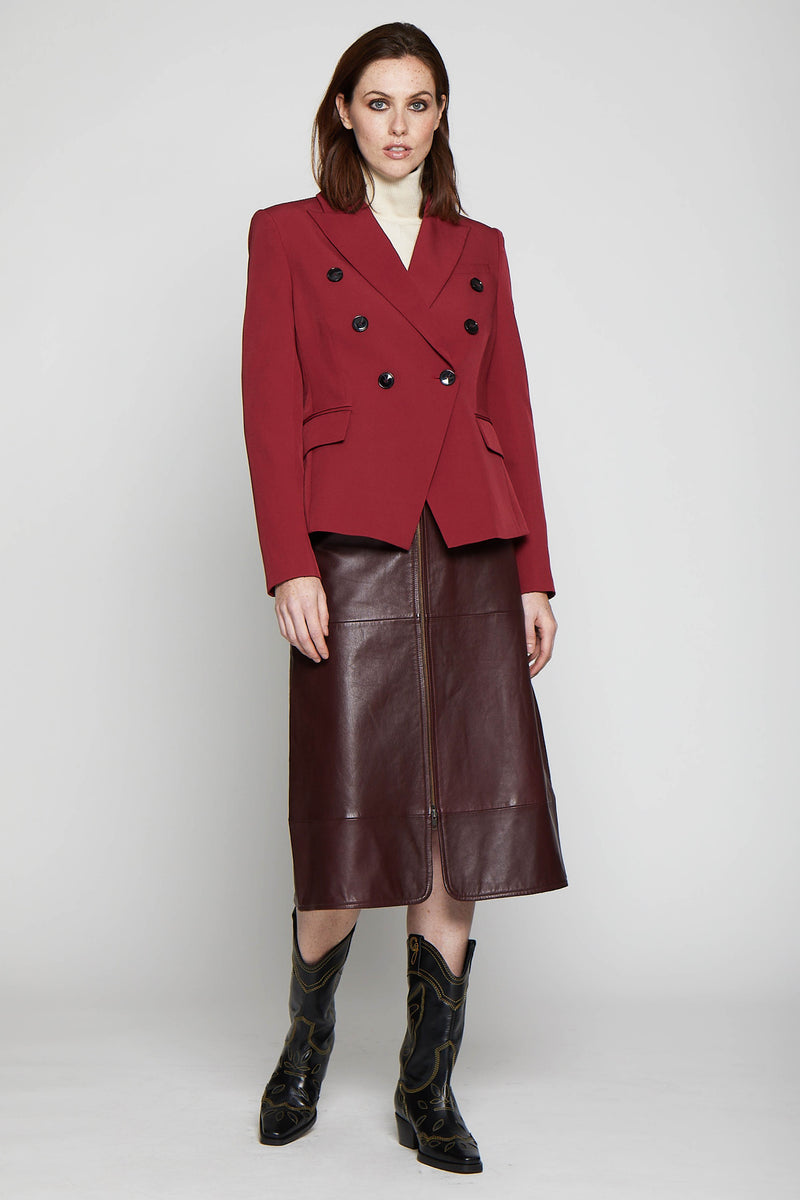 Phelps Jacket, Bordeaux