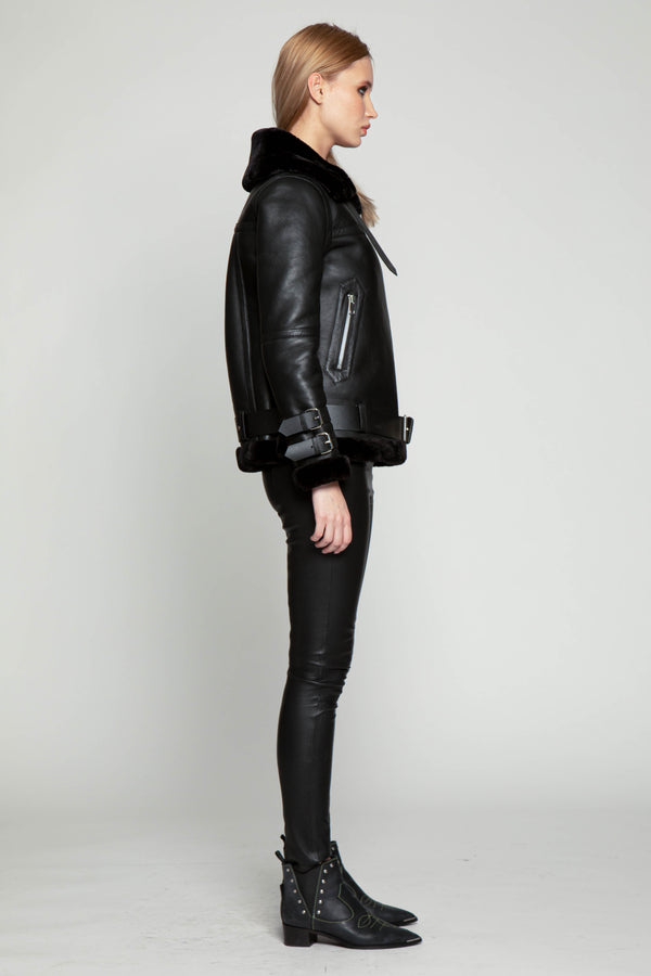 Whitney Jacket, Black/Black