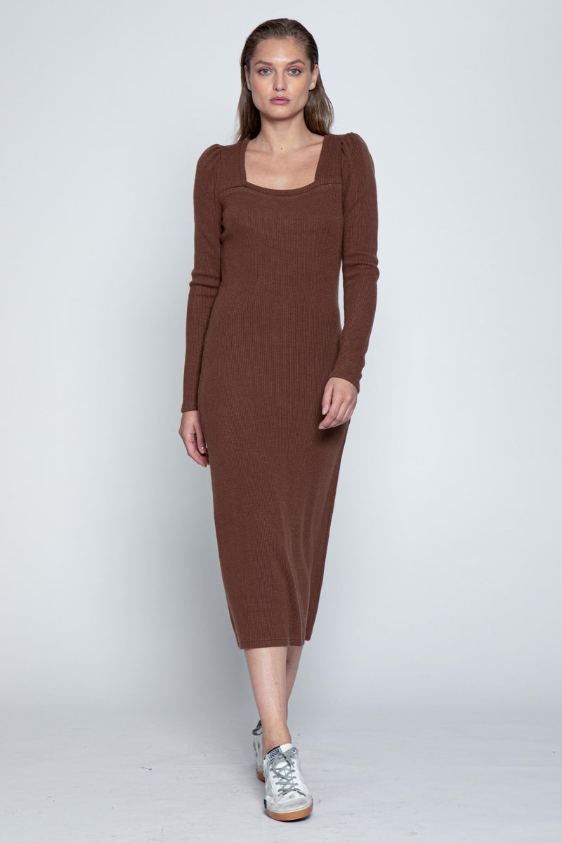 Orla Dress, Russet