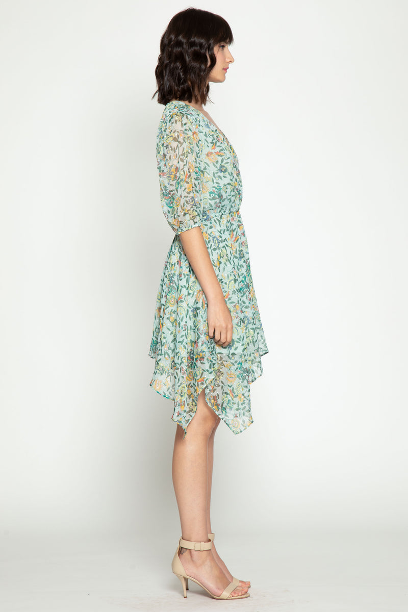 Cyrus Dress, Monarch Floral