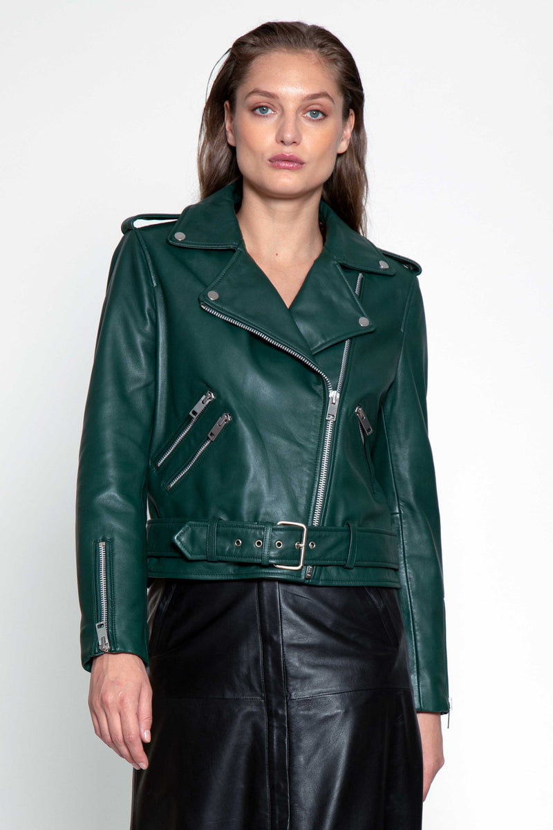 Allison Jacket, Bottle Green