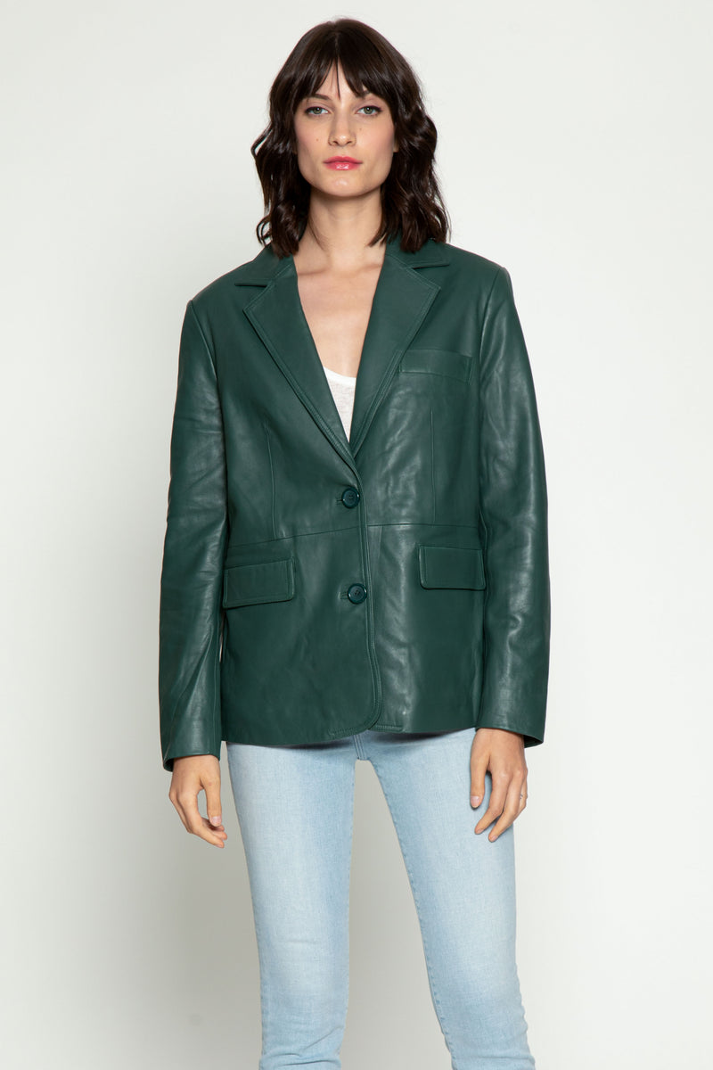 Analise Jacket, Bottle Green