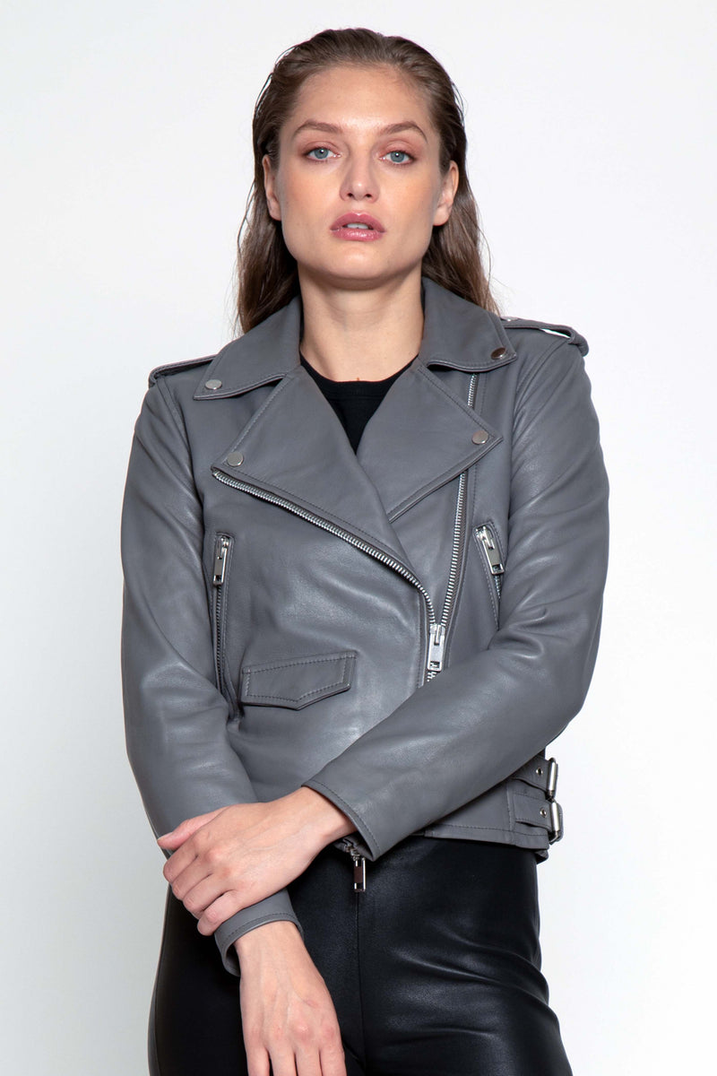 Liz Jacket, Dark Taupe