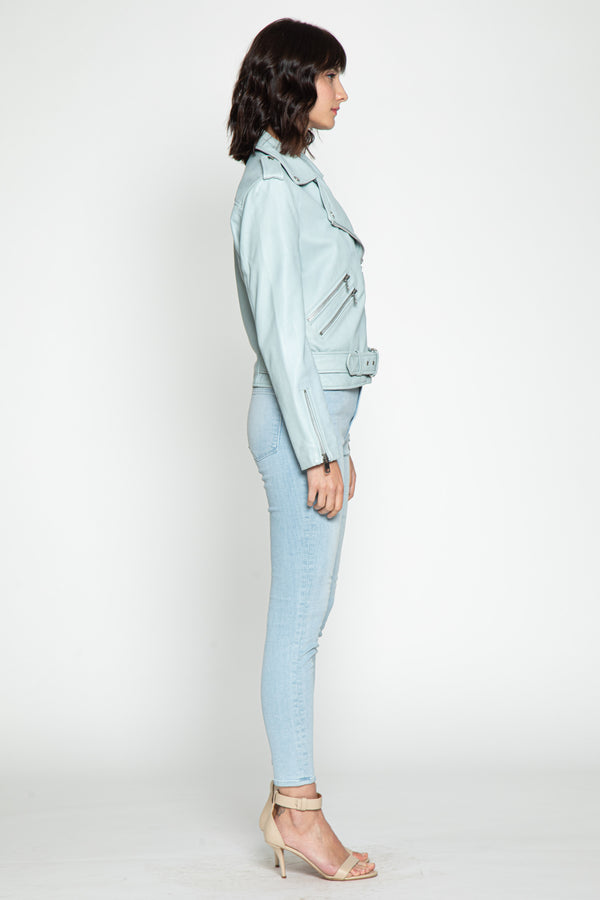 Allison Jacket, Light Blue