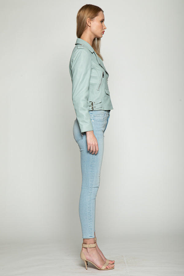 Liz Jacket, Light Blue