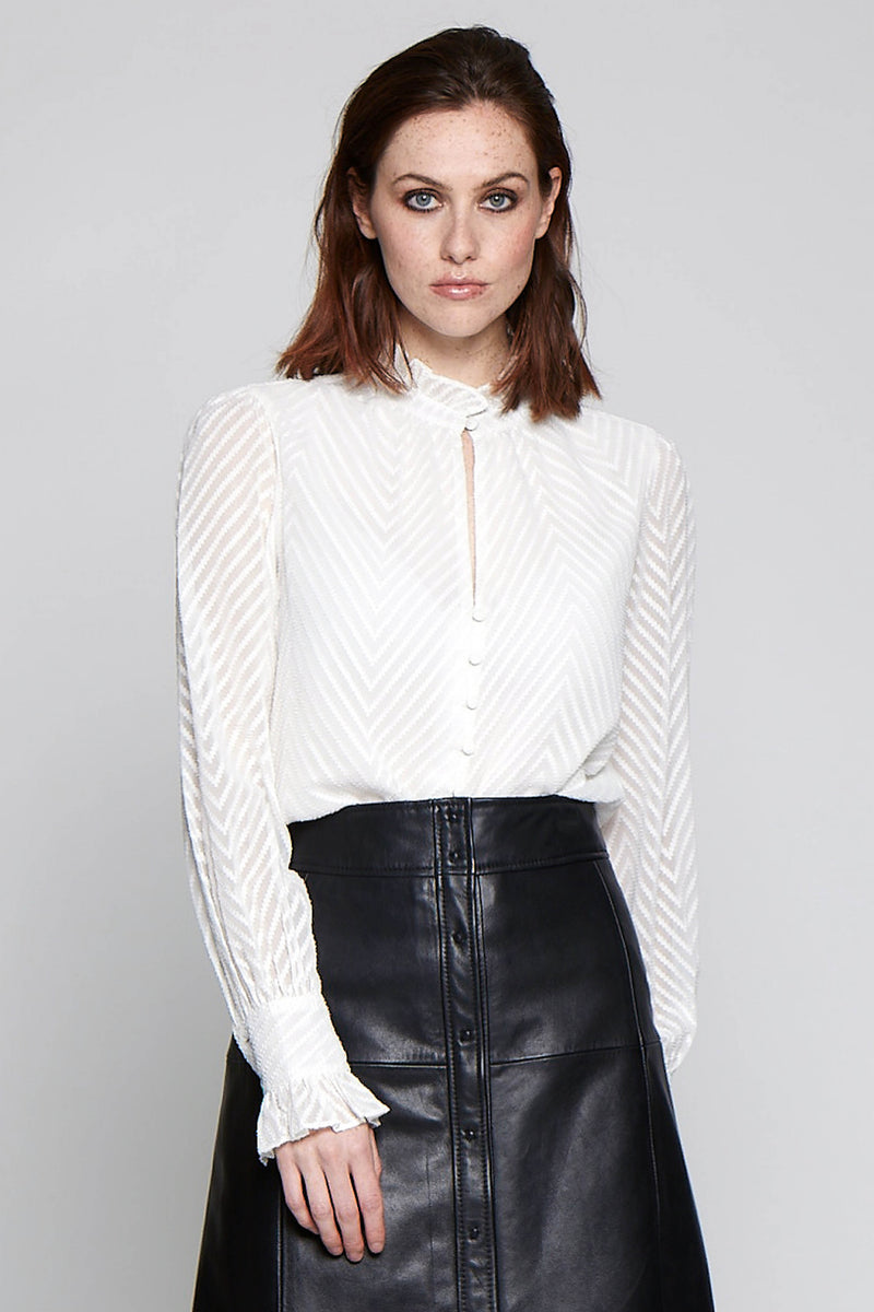 Justice Top, White