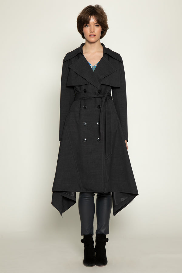 Dorothea Trench, Dark Grey