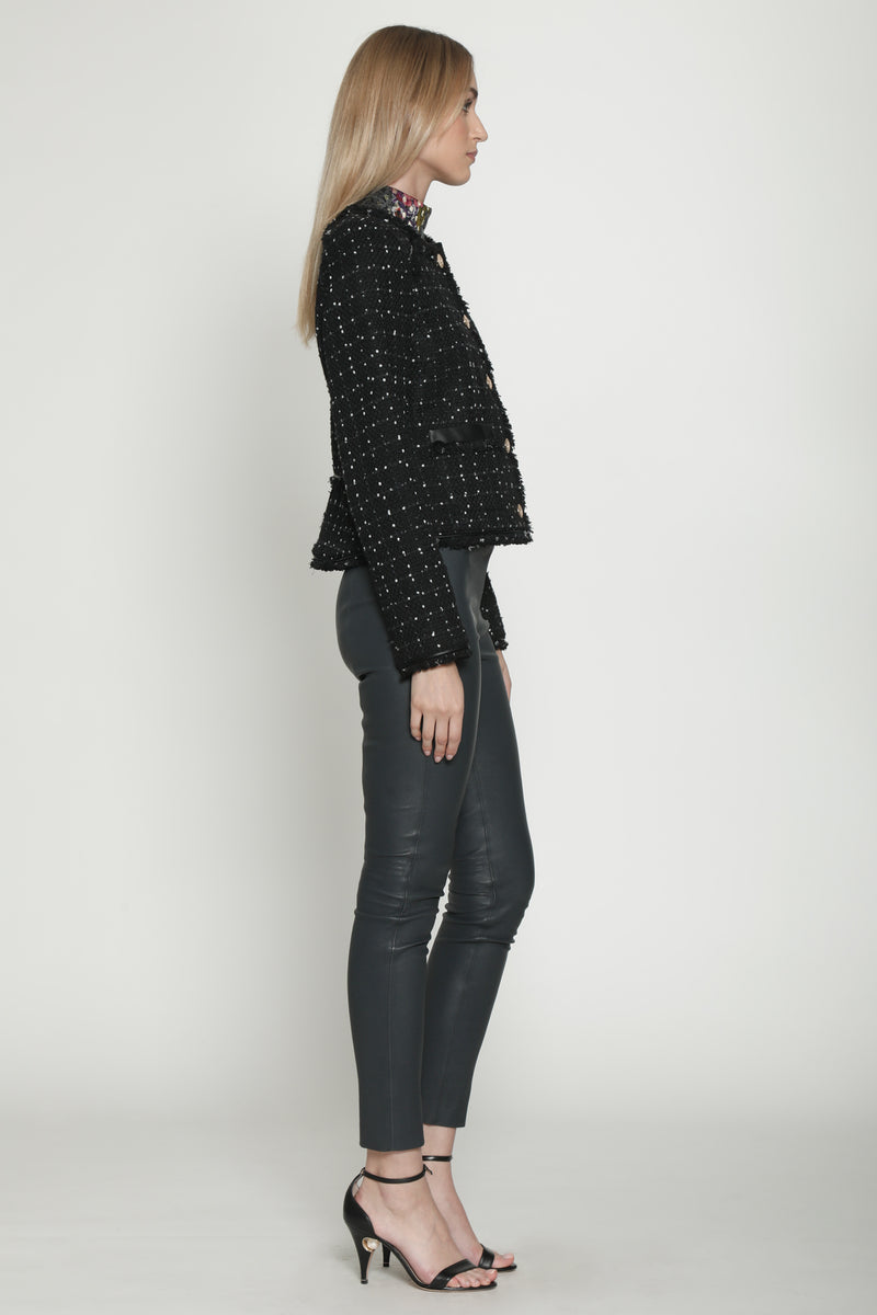 Baca Jacket, Black Speckle