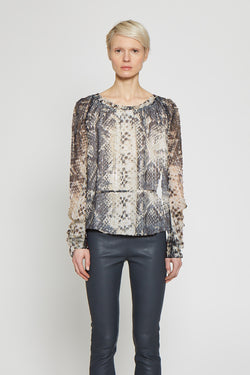 Erline Top, Snake Lurex