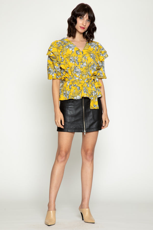 Ellie Top, Mustard Tropics