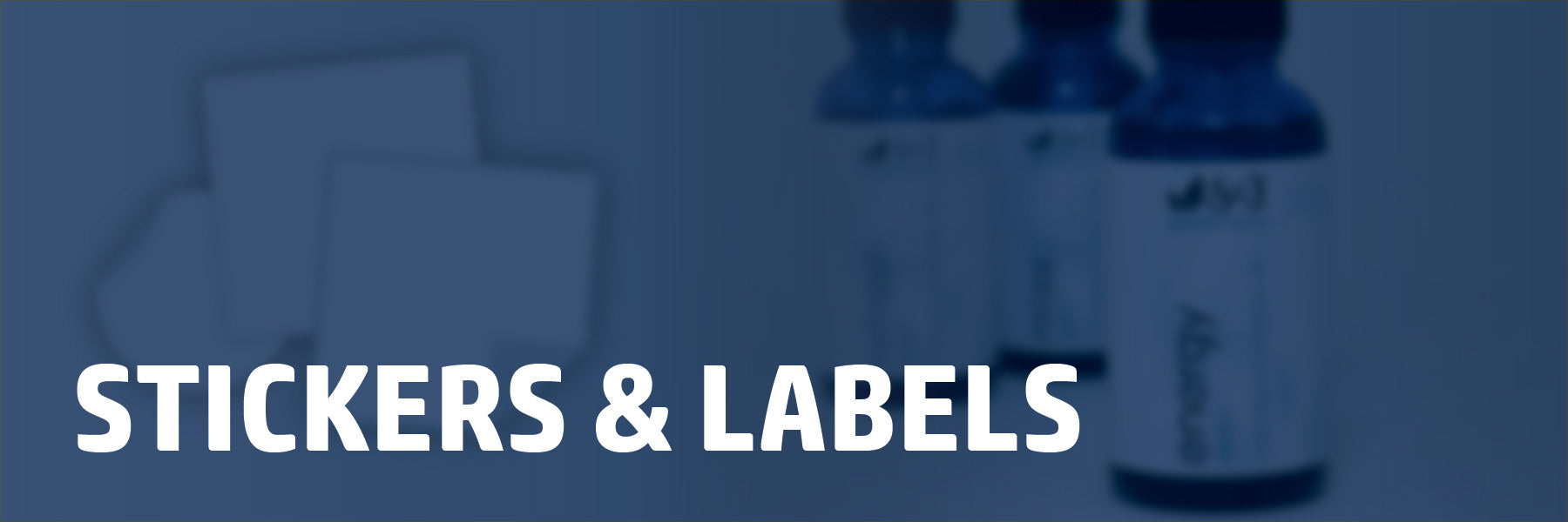 custom die-cut stickers and product labels