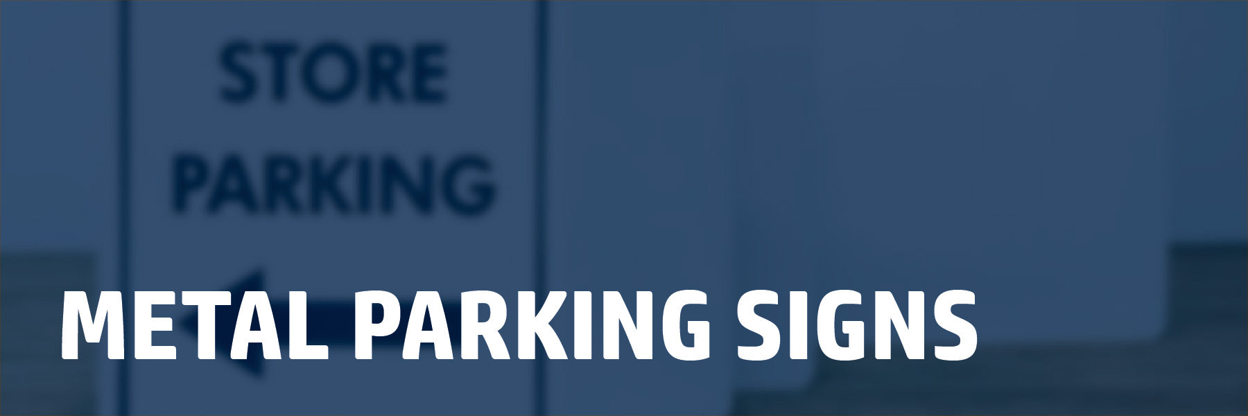 aluminum parking signs affordable metal street signs