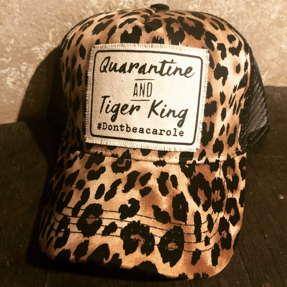 Quarantine and Tiger King