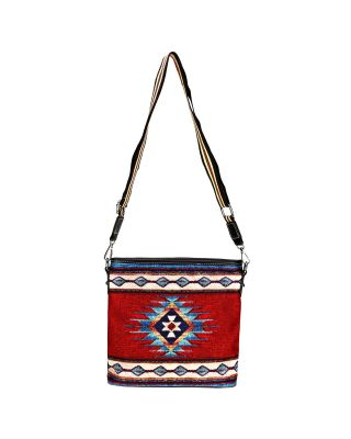 Small Montana West Aztec Adjustable Crossbody Purse