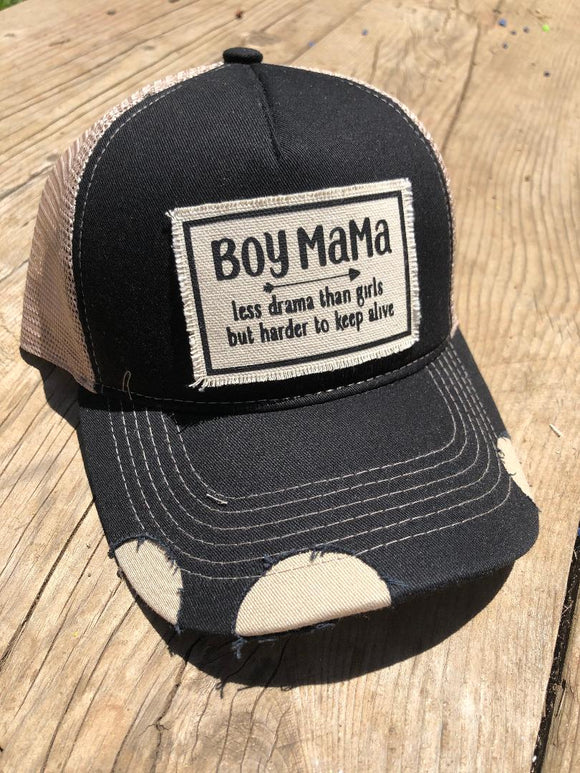 Boy MAMA Trucker Hat