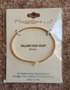 Bracelet  (Follow Your Heart)
