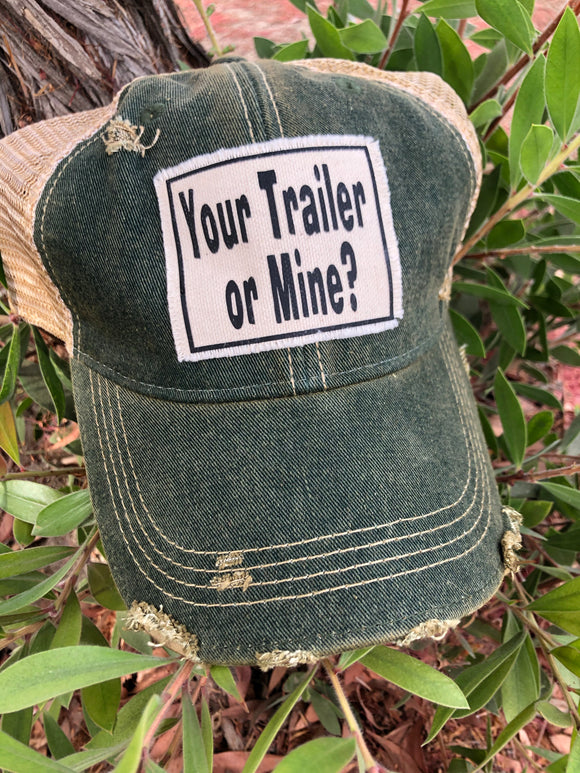 Your trailer or mine