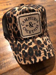Campfires & Cocktails hat