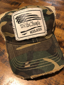 We the people need Jesus Camo