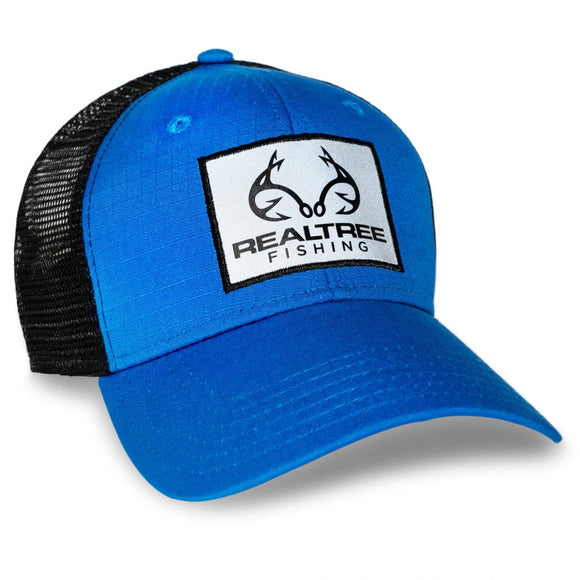 Realtree Fishing Blue Mesh Hat