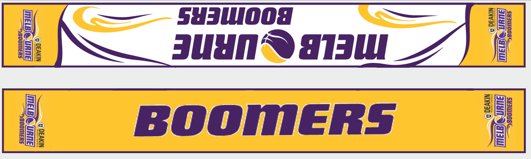 NEW Season 2018/2019 Melbourne Boomers Supporter Scarf