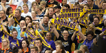 Load image into Gallery viewer, Melbourne Boomers Supporter Scarf