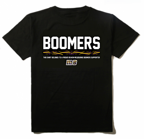 Boomers Swirl Short Sleeve T-shirt