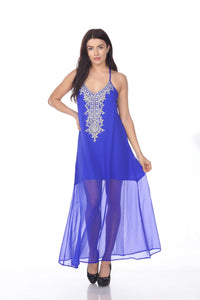 SD624 Georgette Royal Blue