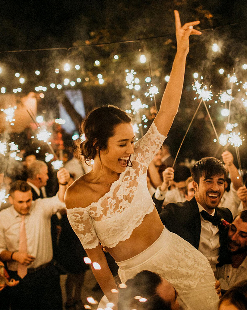 Ways to Showcase Sparklers At Your Wedding