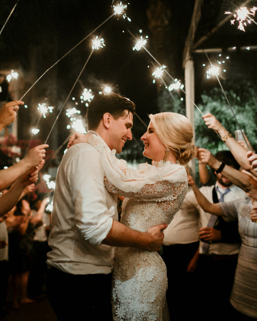How To Spot Quality Wedding Sparklers