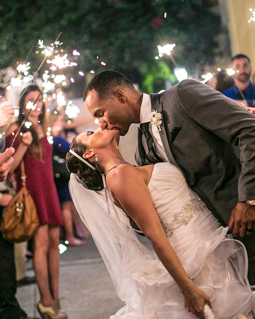 Tips for Wedding Sparkler Photography