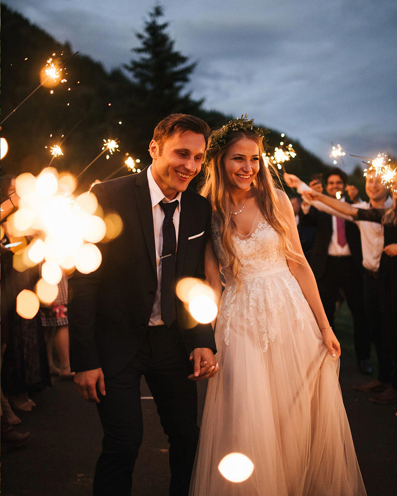 Wedding Sparkler Hashtags
