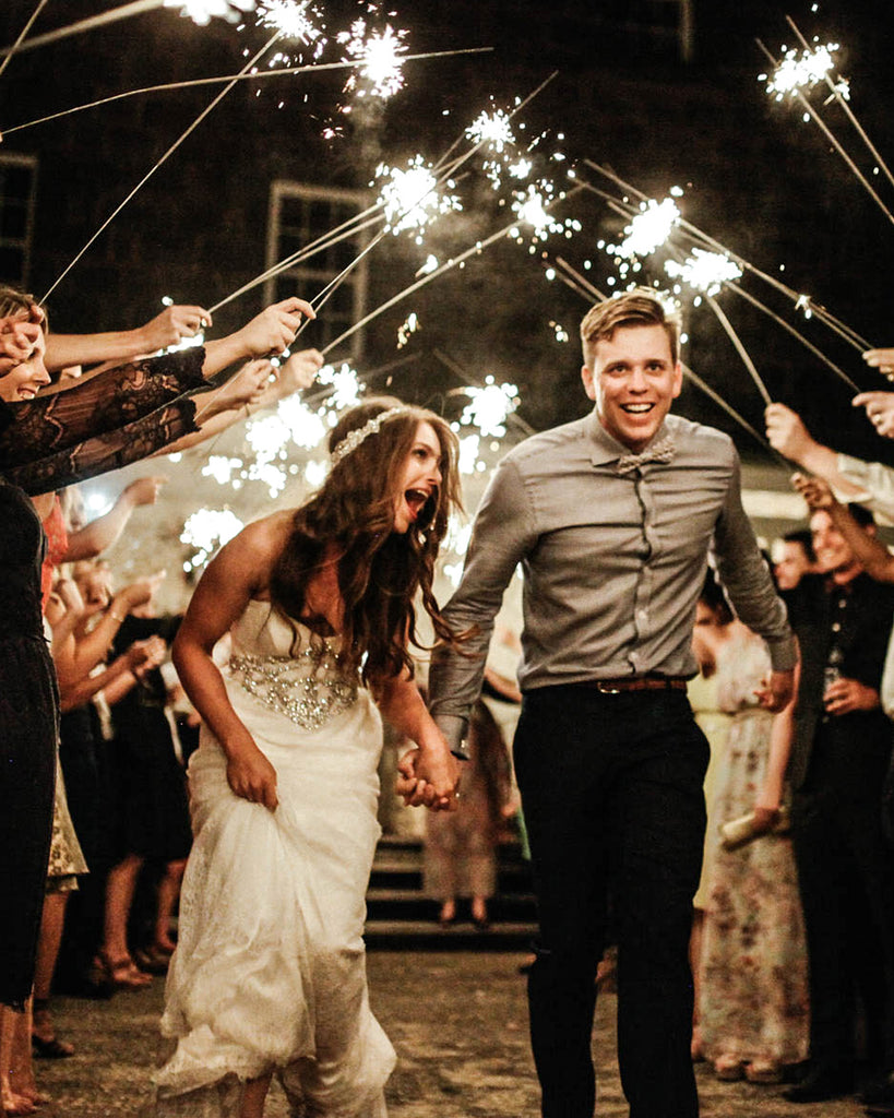 Wedding Sparklers for Grand Wedding Exit