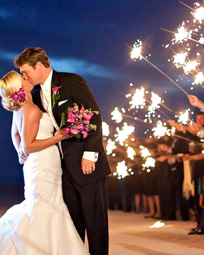 Wedding must have sparklers